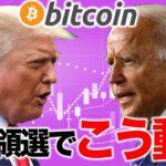 大統領選でビットコインはこう動く【2020年10月31日】BTC、ビットコイン、相場分析、XRP、リップル、仮想通貨、暗号資産、爆上げ、暴落、NYダウ、日経平均、株価