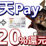 楽天Payお得な1週間!楽天カードでのコード,QR払い最大20%還元キャンペーン!